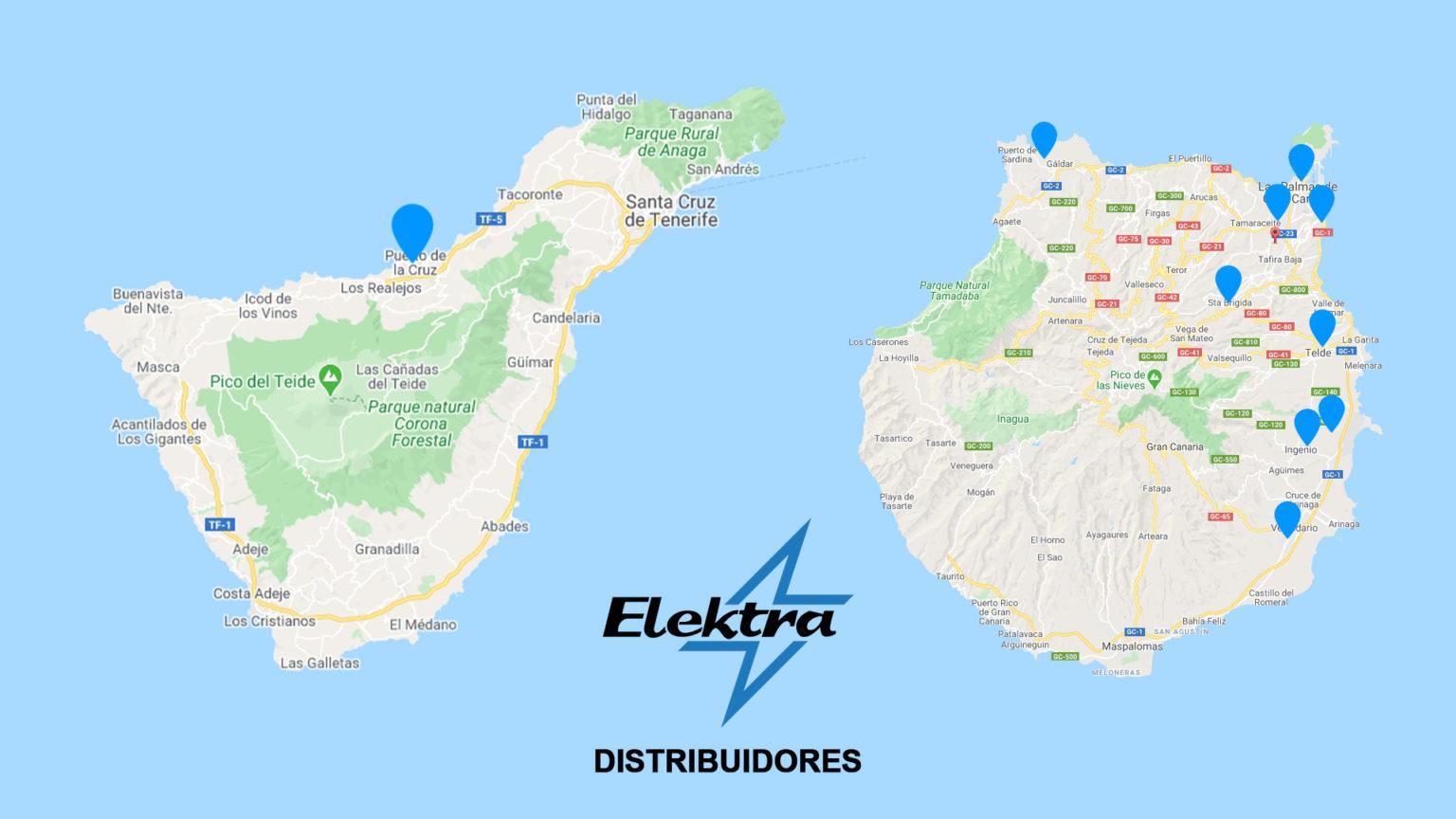 Distribuidores de Elektrabikes
